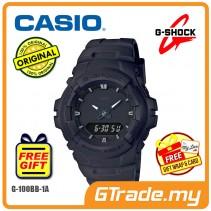 CASIO G-SHOCK G-100BB-1A Analog Digital Watch | Matte Mono Black