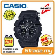 CASIO G-SHOCK GA-100BBN-1A Analog Digital Watch