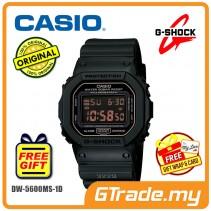 CASIO G-SHOCK DW-5600MS-1 Digital Watch | Army Force Matte Black