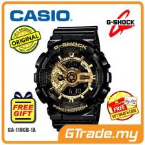 CASIO G-SHOCK GA-110GB-1A Analog Digital Watch | Gold Black Edition