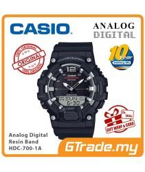 CASIO MEN HDC-700-1A Analog Digital Watch | 10-Year Battery