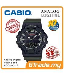 CASIO MEN HDC-700-3A Analog Digital Watch | 10-Year Battery