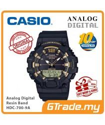 CASIO MEN HDC-700-9A Analog Digital Watch | 10-Year Battery