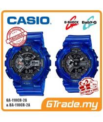 CASIO G-SHOCK BABY-G GA-110CR-2A BA-110CR-2A Couple Watch