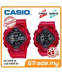CASIO G-SHOCK BABY-G GA-110CR-4A BA-110CR-4A Couple Watch