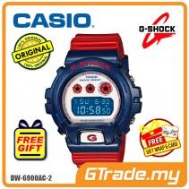 CASIO G-SHOCK DW-6900AC-2 STANDARD Digital Watch | Red & Blue Colors