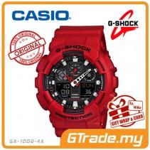 CASIO G-SHOCK GA-100B-4A Analog Digital Watch | Alarm 3 Dials